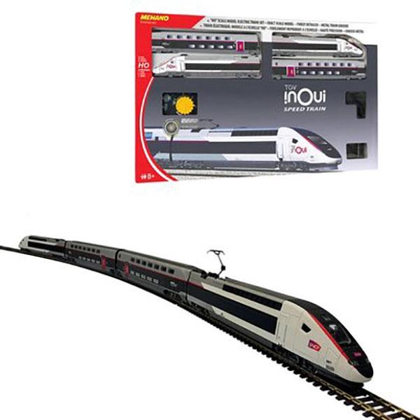 Mehano voz Set TGV INOUI T871 - ODDO igračke