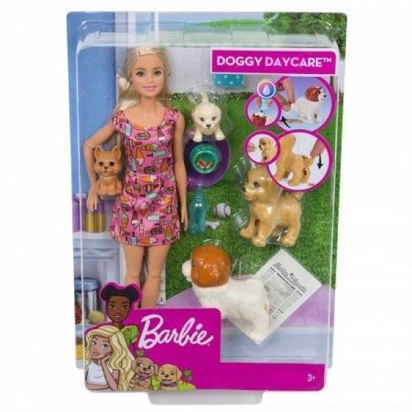 Barbie lutka Doggy Daycare MAFXH08 - ODDO igračke