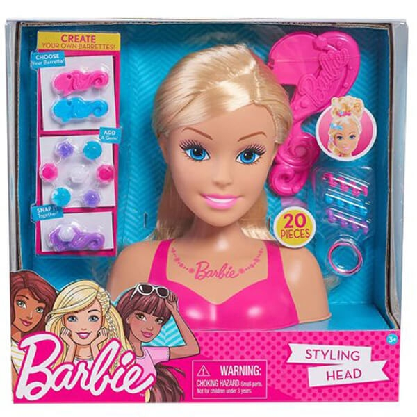 Barbie glava za ukrašavanje mala JP62535 - ODDO igračke