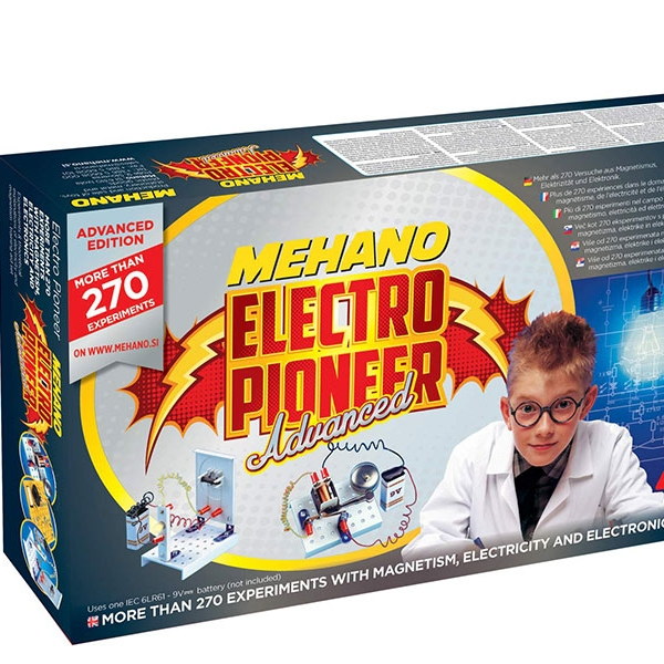 Elektro Pionir Mehano Advance - 273 eksperimenta - ODDO igračke