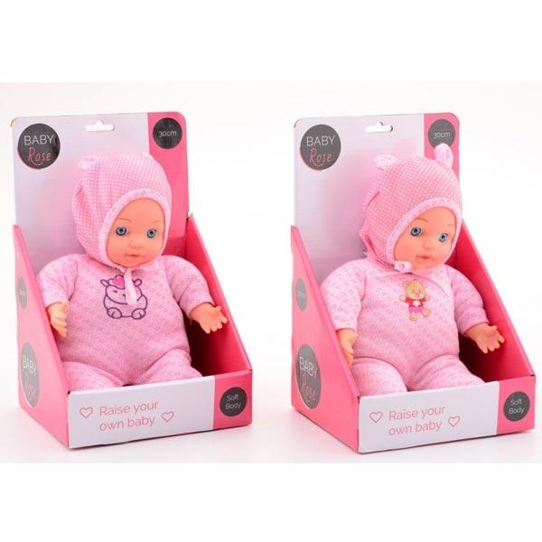 Baby Rose Lutka mekana 30cm 27613 - ODDO igračke