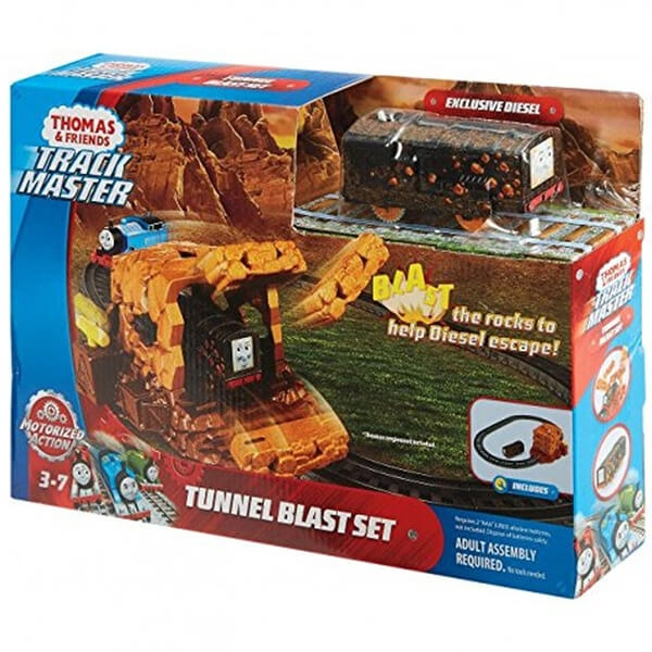 Thomas and Friends Tunnel Blast Set voz u tunelu FJK24  - ODDO igračke