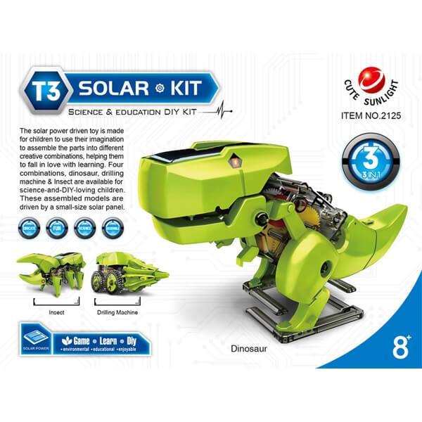 Solarni set Dinosaurus 3u1 50198 - ODDO igračke