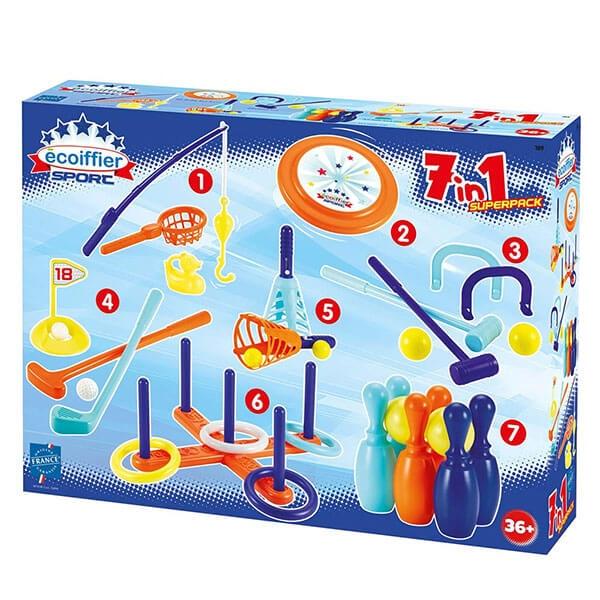 Ecoiffier 7u1 Sportski Set SM000189 - ODDO igračke