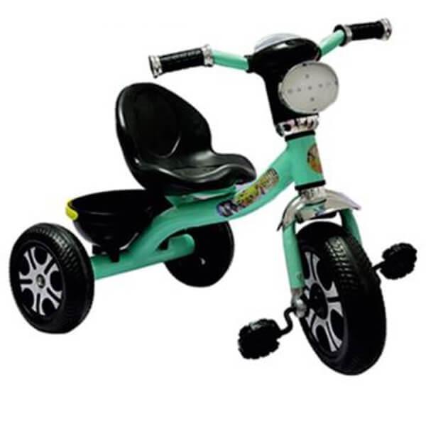 Tricikl sa korpicom,ojačana metalna konstrukcija 064839 - ODDO igračke