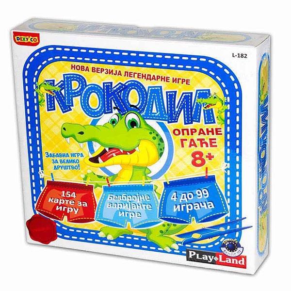 Play Land Krokodil Drustvena igra PL182         - ODDO igračke