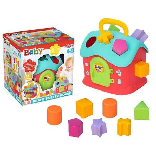 Didaktička kućica Dede 034189 - ODDO igračke