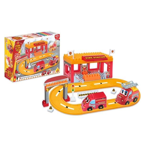 Kocke Fire Station Vatrogasci Dede 033236 - ODDO igračke