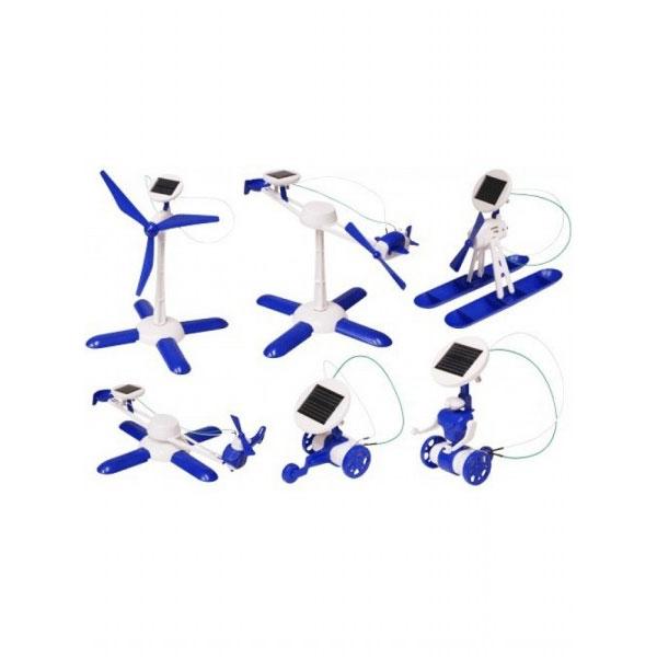 Solarni set robot 6u1 59146 - ODDO igračke