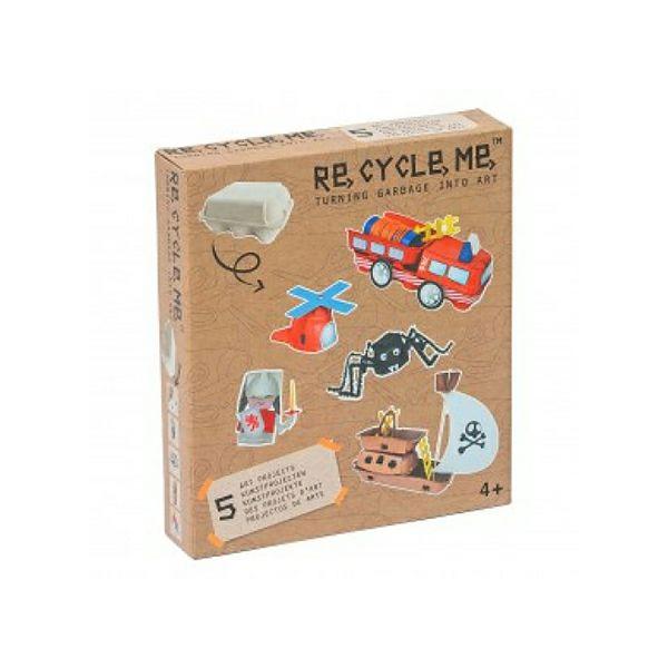 Set recycle me kutija za jaja (dečaci) 21687 - ODDO igračke