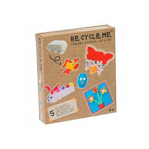 Set recycle me kutija za jaja (devojčice) 21689 - ODDO igračke