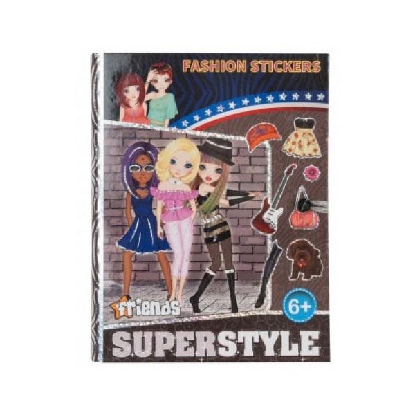 Bojanka Fashion Stickers 21284 - ODDO igračke