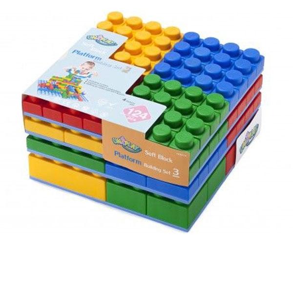 Mekane kocke set 124/1 UB014 - ODDO igračke