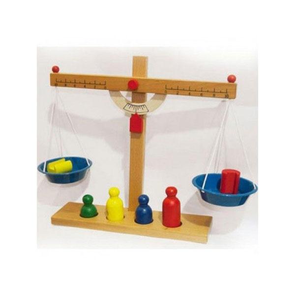 Drvena tas vaga sa tegovima KDT8903 - ODDO igračke