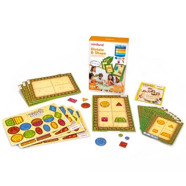 Miniland Pogodi Oblik 97030 - ODDO igračke
