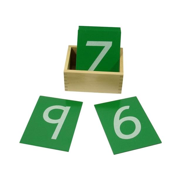 Montesori Taktilne Pločice HTM0124 - ODDO igračke