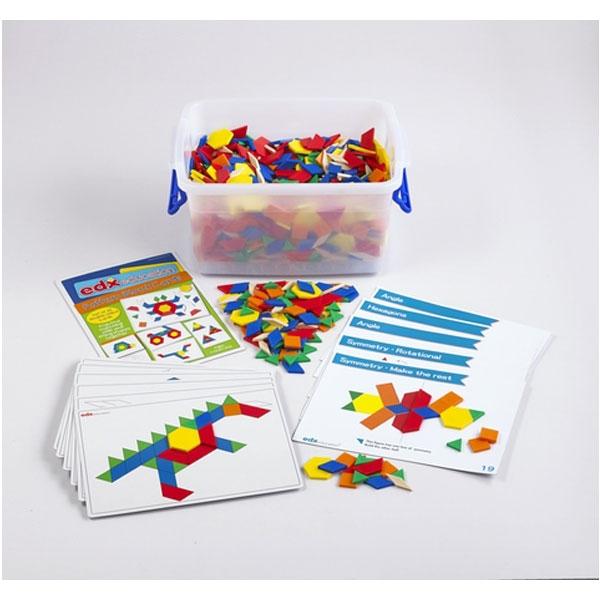Tangram set  sa zadacima 22282C - ODDO igračke