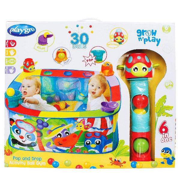 Playgro Bazen sa Lopticama 0186366 - ODDO igračke