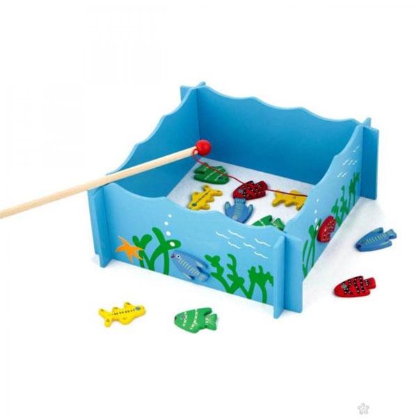 Viga Drveni Set za Pecanje 56305 - ODDO igračke