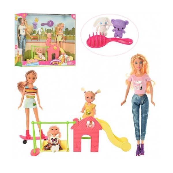 Lutka Defa u parku sa toboganom I ljuljaškom 2ass 8409 - ODDO igračke