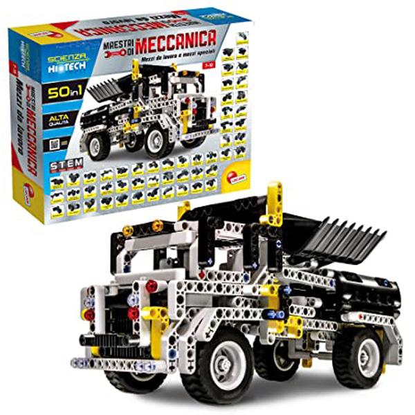 HI -Tec Nauka Edukativni set konstruiši Stem mašine 50u1 Lisciani 73344 - ODDO igračke