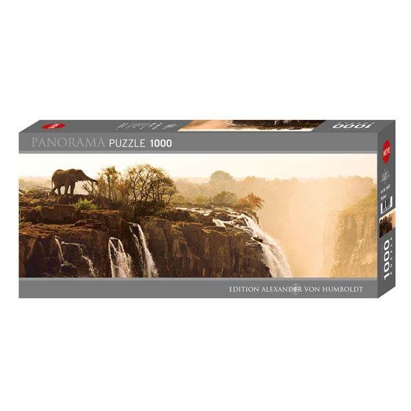 Heyepuzzle 1000 pcs Edition Humboldt Panorama Elephant 29287 - ODDO igračke