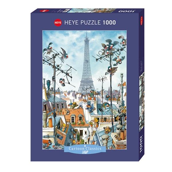 Heyepuzzle 1000 pcs Cartoon Classics Loup Ajfelov Toranj 29358 - ODDO igračke