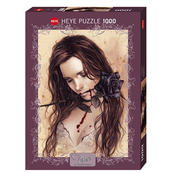 Heyepuzzle 1000 pcs Victoria Favole Dark Rose 29430 - ODDO igračke