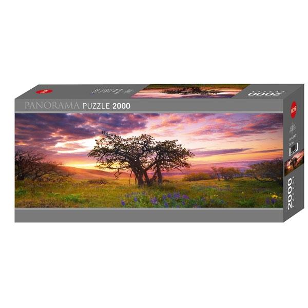 Heyepuzzle 2000 pcs Edition Humboldt Panorama Oak Tree 29472 - ODDO igračke