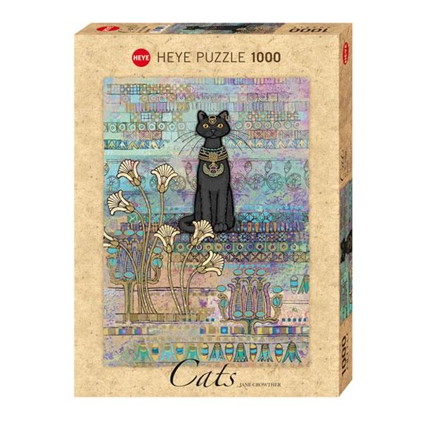Heyepuzzle 1000 pcs Cats Jane Crowther Egyptian 29536 - ODDO igračke
