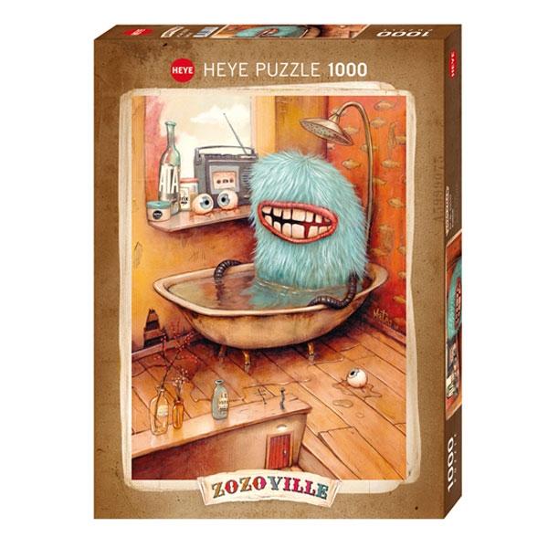 Heyepuzzle 1000 pcs Zozoville Bathtub 29539 - ODDO igračke