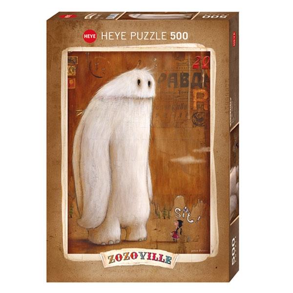Heyepuzzle 500 pcs Zozoville Mala Dreserka 29675 - ODDO igračke