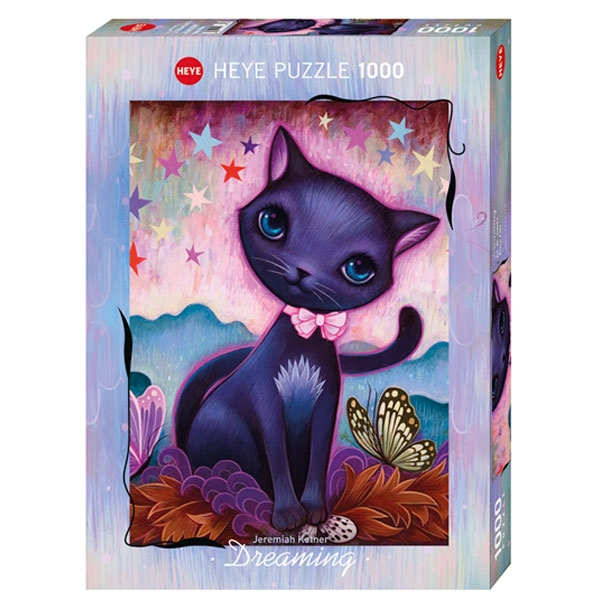 Heye puzzle 1000 pcs Dreaming Black Kitty 29687 - ODDO igračke