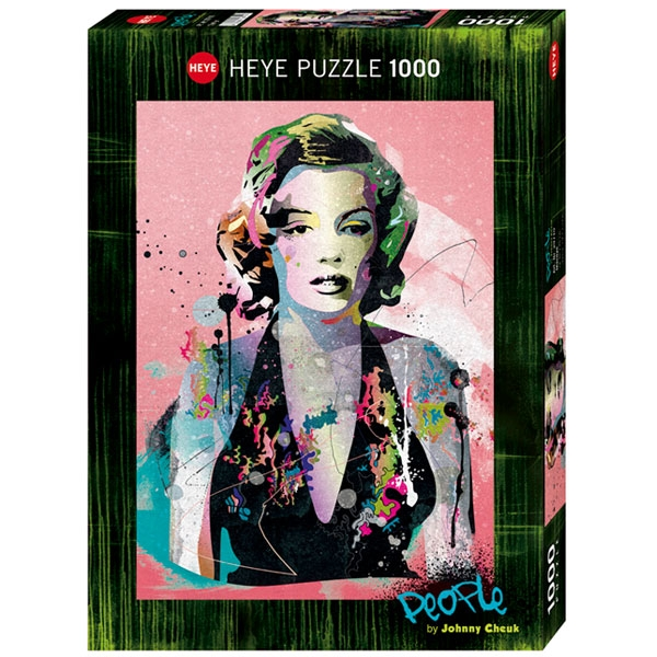 Heyepuzzle 1000 pcs People by Cheuk Marilyn 29710 - ODDO igračke