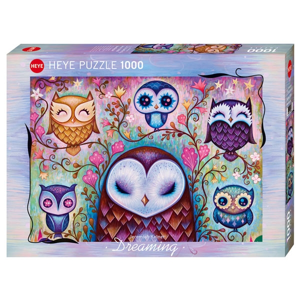 Heye puzzle 1000 pcs Dreaming Great Big Owl 29768 - ODDO igračke