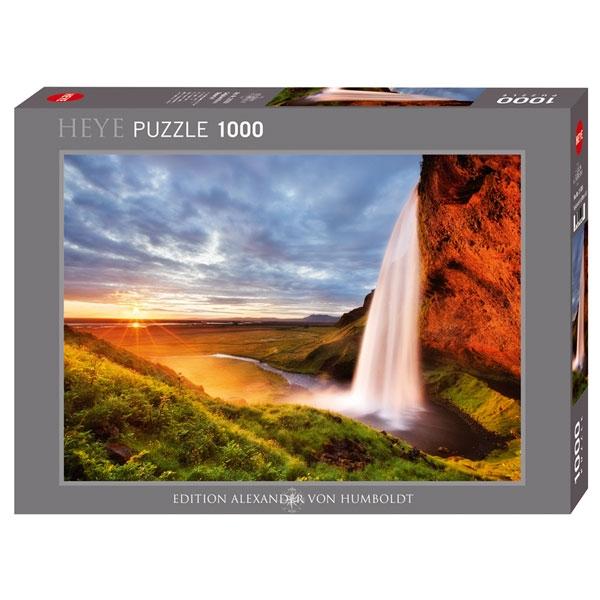 Heyepuzzle 1000 pcs Edition Humboldt A Seljalandsfoss Waterfall 29769 - ODDO igračke