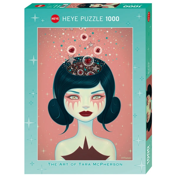 Heyepuzzle 1000 pcs McPherson Supernova II 29784 - ODDO igračke