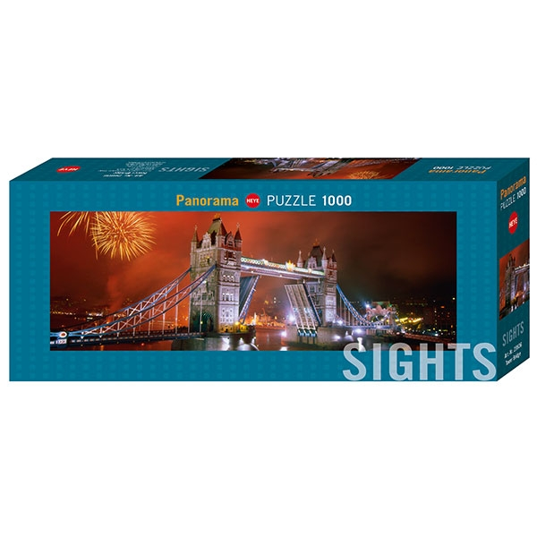 Heye puzzle Sights Tower Bridge 1000 pcs - ODDO igračke