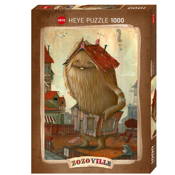 Heyepuzzle 1000 pcs Zozoville Neighbourhood 29812 - ODDO igračke