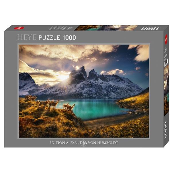 Heyepuzzle 1000 pcs Edition Humboldt Guanacos 29815 - ODDO igračke