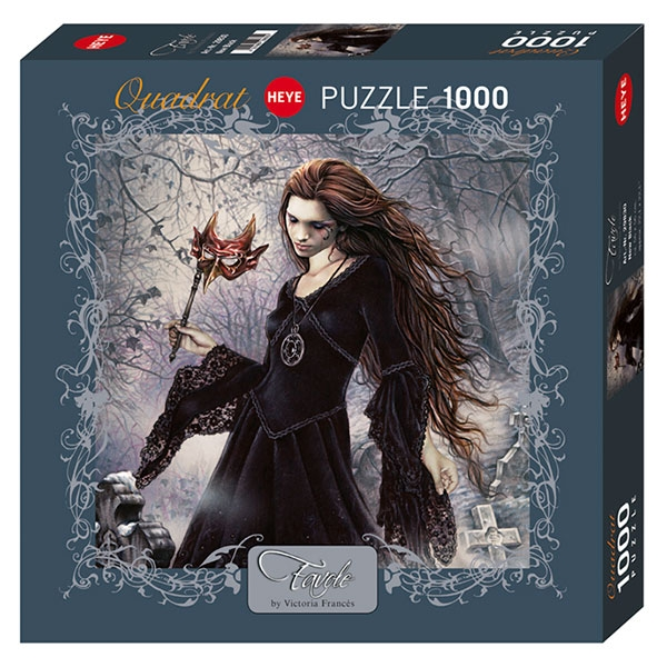 Heye puzzle New Black, Favole 1000 pcs - ODDO igračke