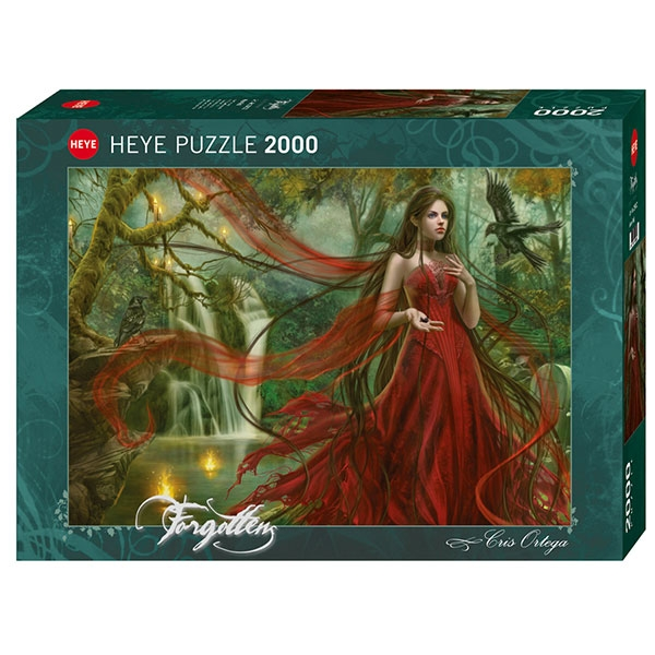 Heye puzzle 2000 pcs Forgotten New Red 29832 - ODDO igračke