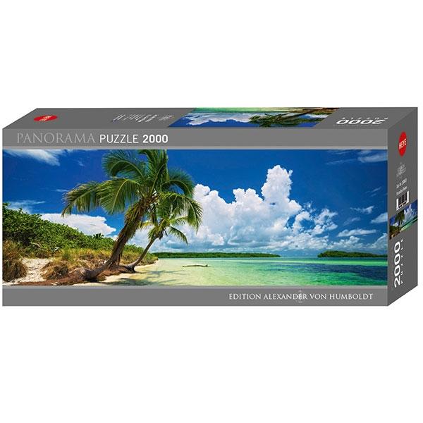 Heyepuzzle 2000 pcs Edition Humboldt Panorama Paradise Palm 29860 - ODDO igračke