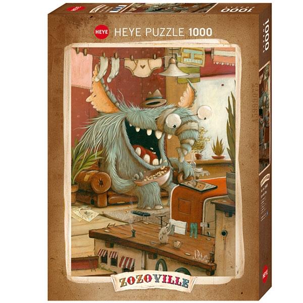 Heyepuzzle 1000 pcs Zozoville Laundry Day 29865 - ODDO igračke