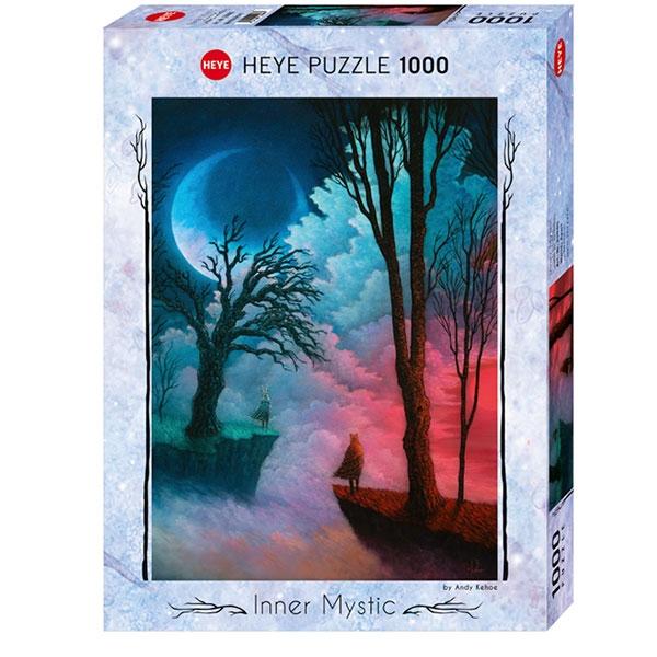 Heyepuzzle 1000 pcs Inner Mystic Razdvojeni svetovi 29880 - ODDO igračke