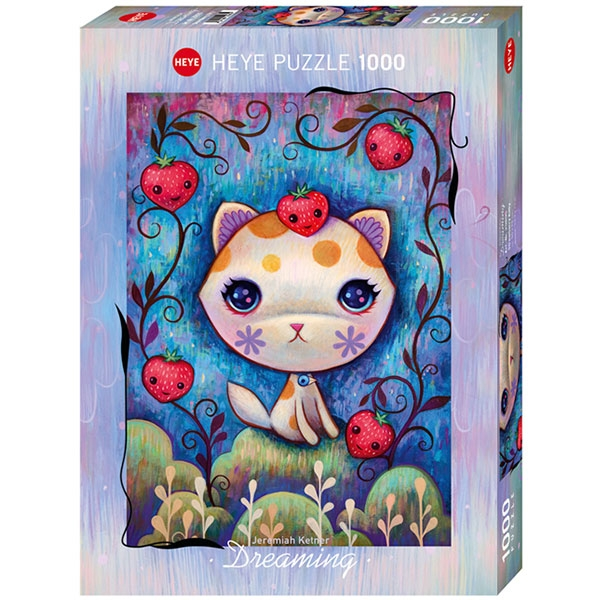 Heye puzzle 1000 pcs Dreaming Strawberry Kitty 29895 - ODDO igračke