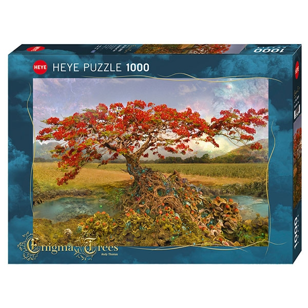 Heyepuzzle 1000 pcs Enigma Trees Strontium Tree 29909 - ODDO igračke