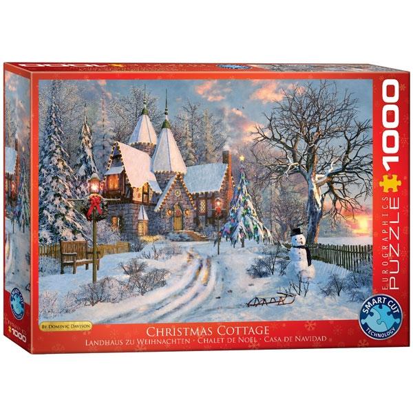 Eurographics Christmas Cottage 1000-Pieces Puzzle 0790 - ODDO igračke