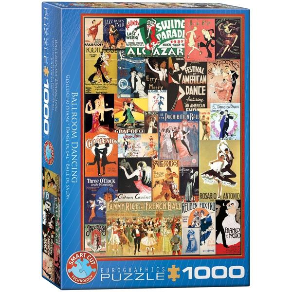 Eurographics Ballroom Dancing 1000-Piece Puzzle - ODDO igračke