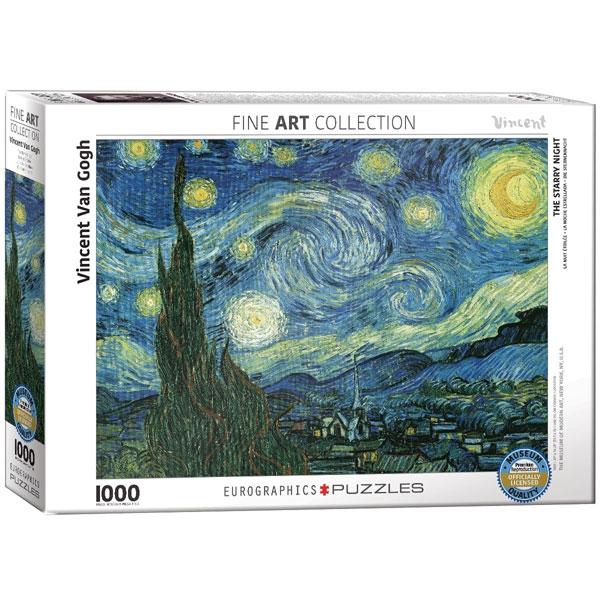 Eurographics Starry Night by van Gogh 1000-Piece Puzzle 6000-1204 - ODDO igračke